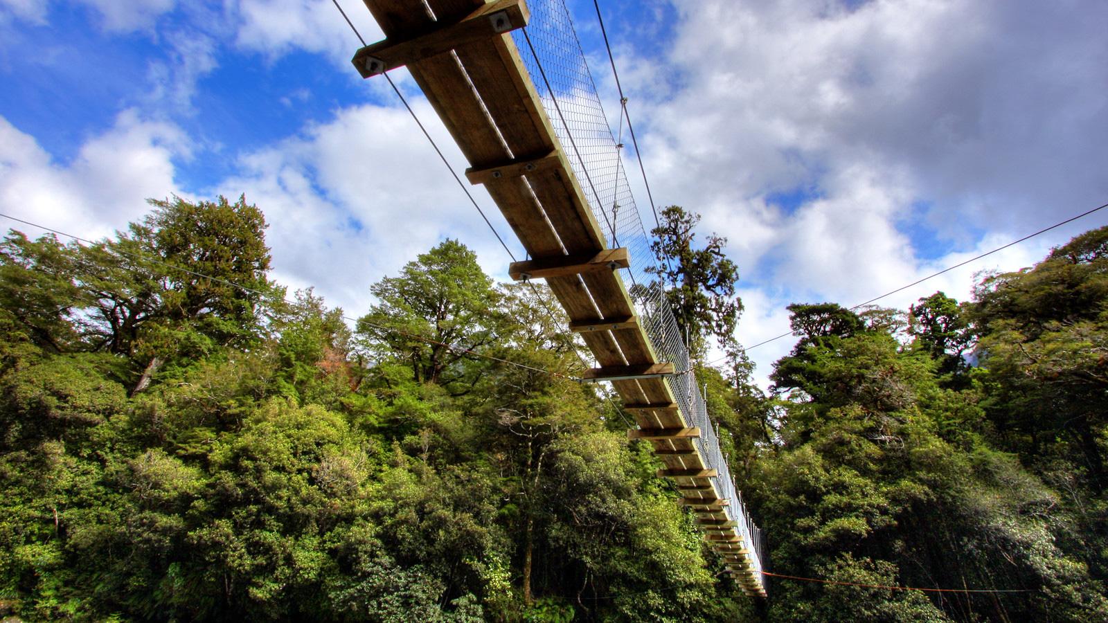 82-foot Suspension Bridge
