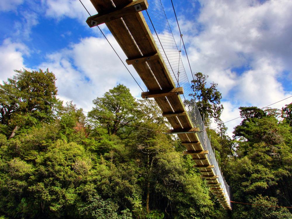 Suspension Bridge Hocking Hills